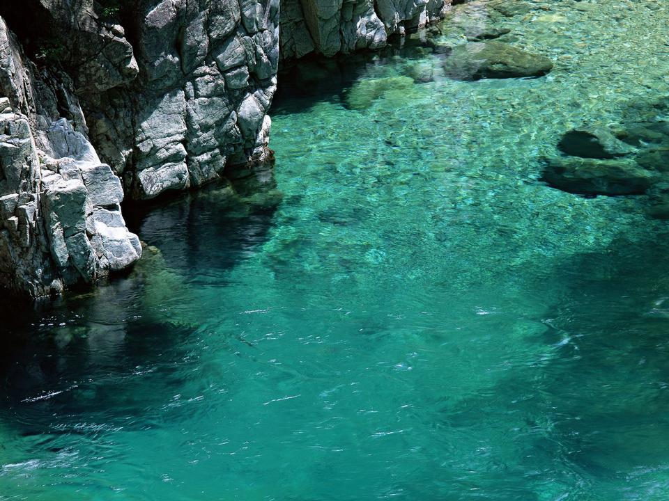 景观与山区河流
