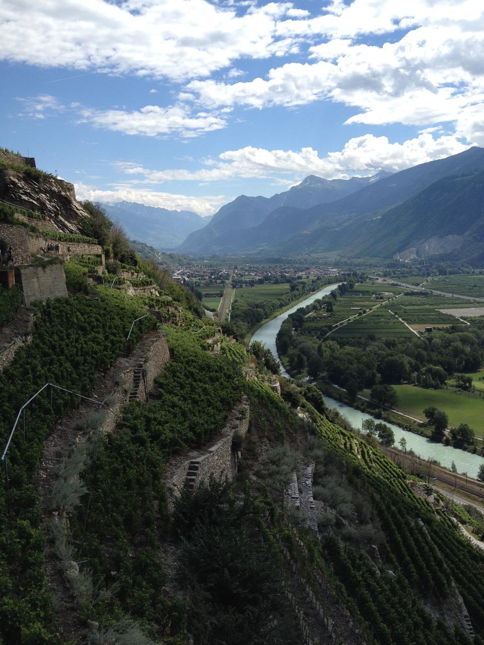 シルク・ドゥ・ラ・Popie中世の村の風景ビューフランス