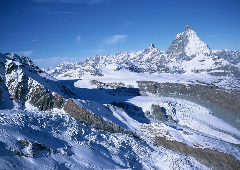 神奇的冬季景觀