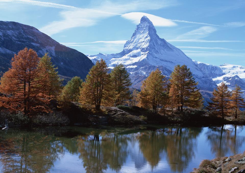 The Matterhorn in Switzerland