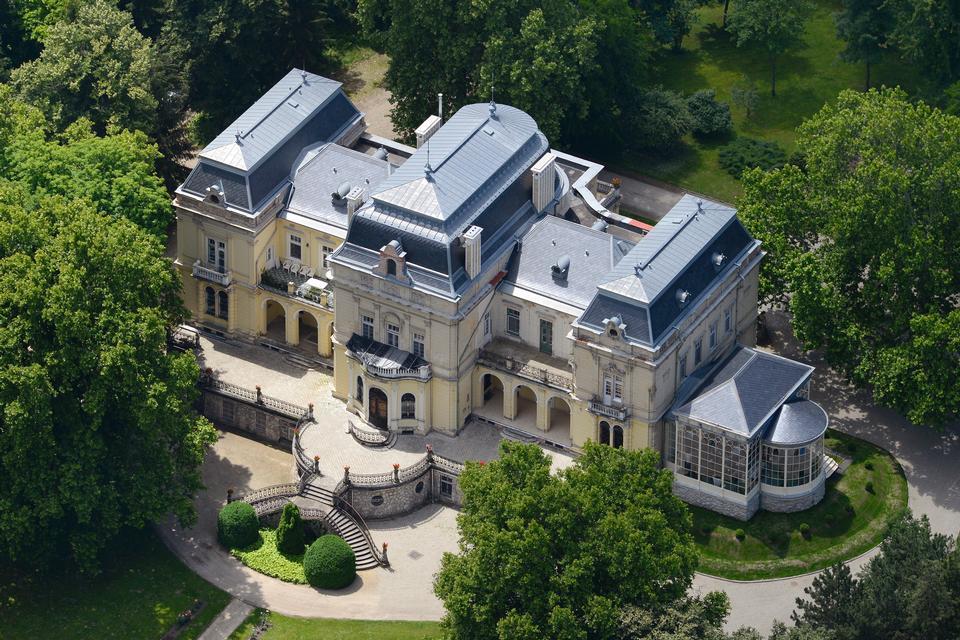 Словакия, Бетлиар, усадьба построена в семье Андраши