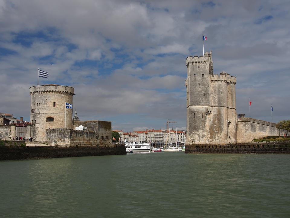 Porto di La Rochelle in Francia