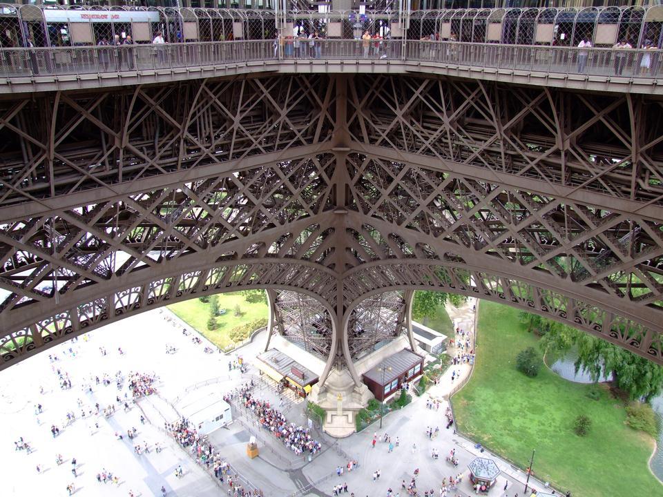 Tour Eiffel structure