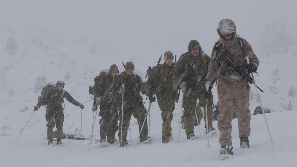 U.S. Marines mountain warfare training