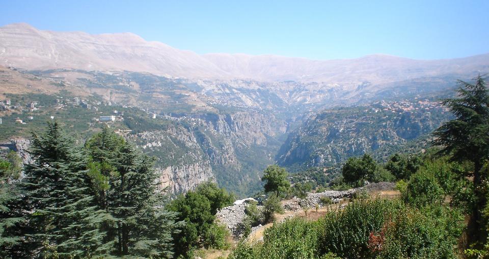 Kadisha Valley in Lebanon