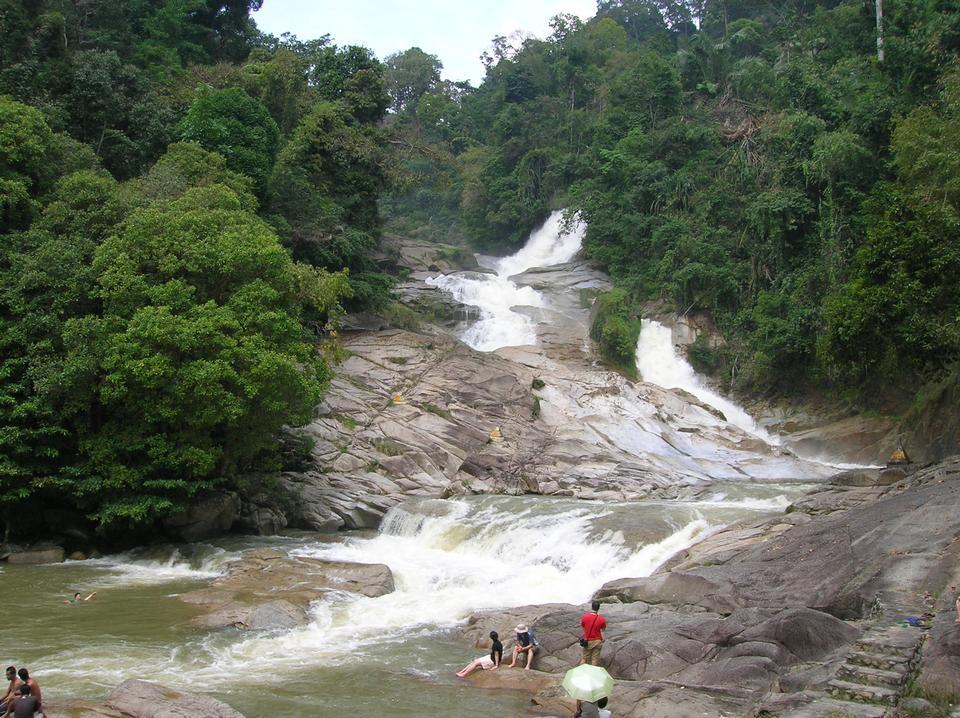 Chamang Waterfall at Bentong, Pahang