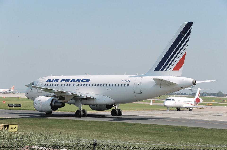 Air France Airbus A318-100
