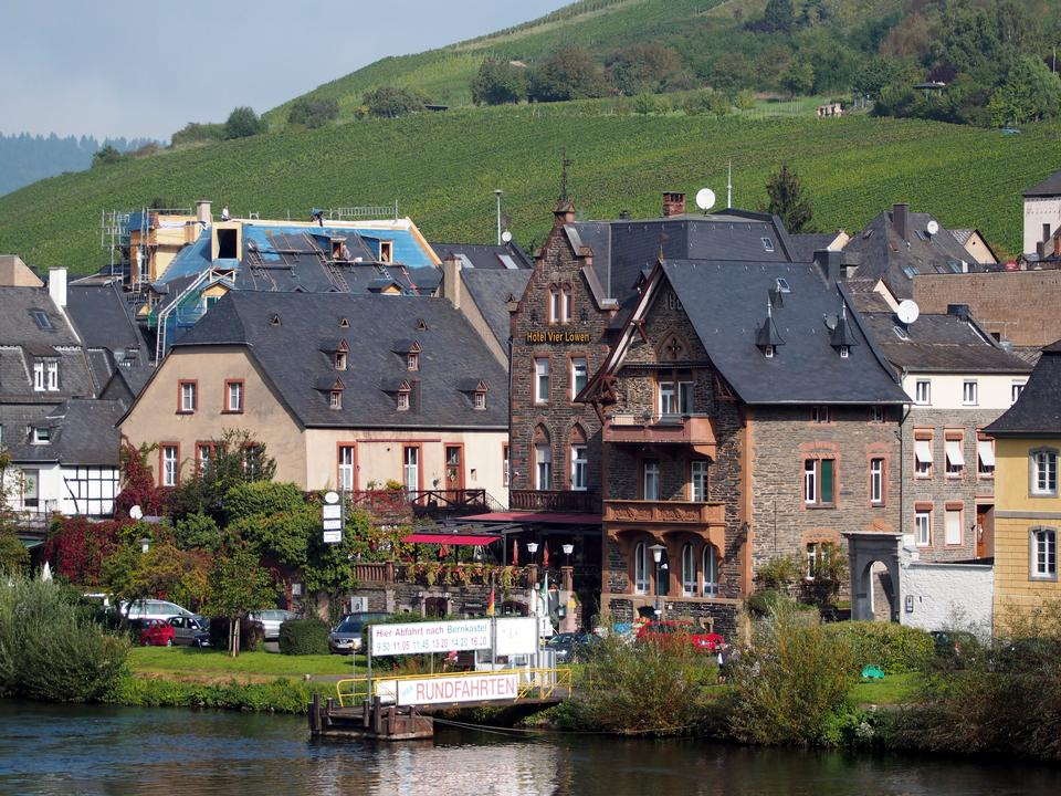 Cityscape  Traben-Trarbach in Germany