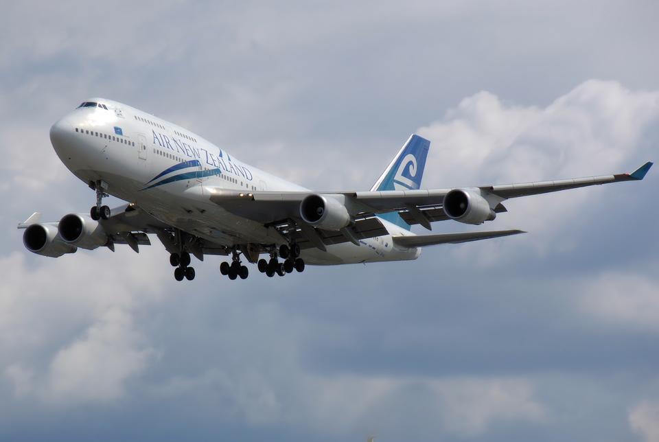 ニュージーランド航空ボーイング747-400