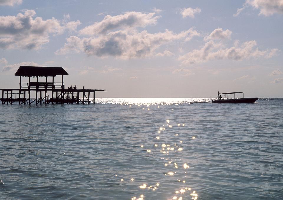 马尔代夫美丽的海滩景观