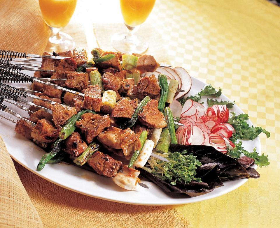 烤串日本烧烤类食品