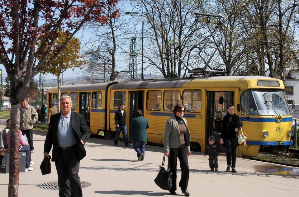 Tram Sarajevo Bosnia and Herzegovina