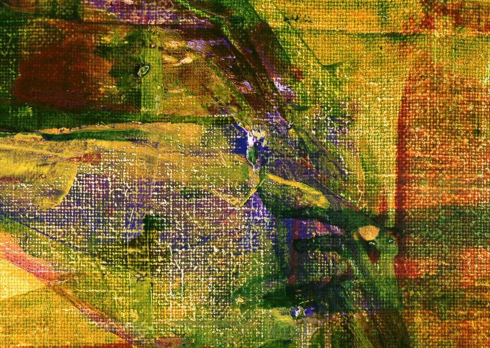arte abstracto del grunge fondo dorado con manchas de colores