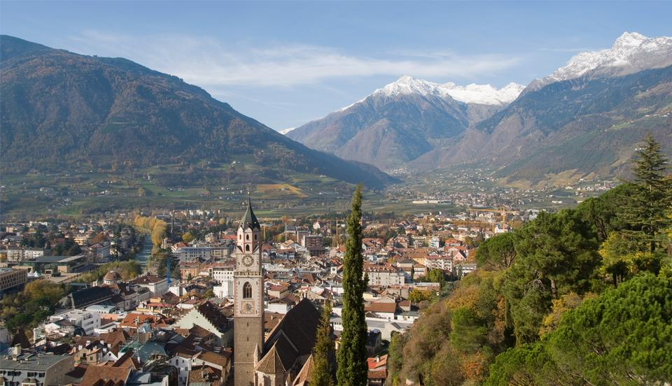 old town of Merano. Merano