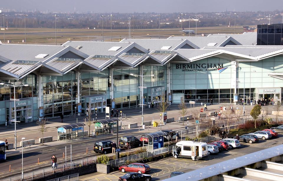 Birmingham International Airport, England