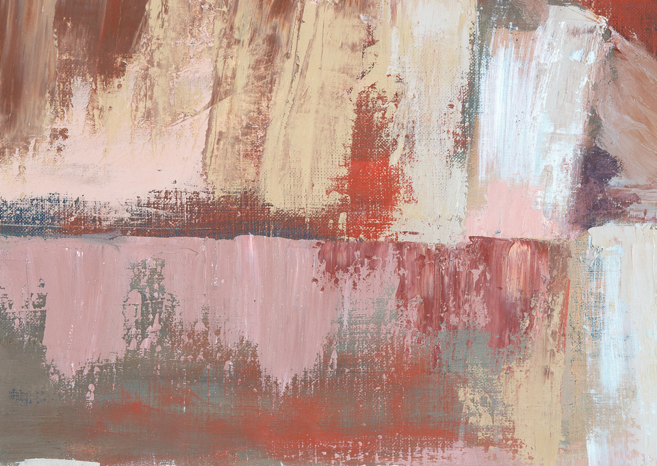 abstract painted texture on canvas