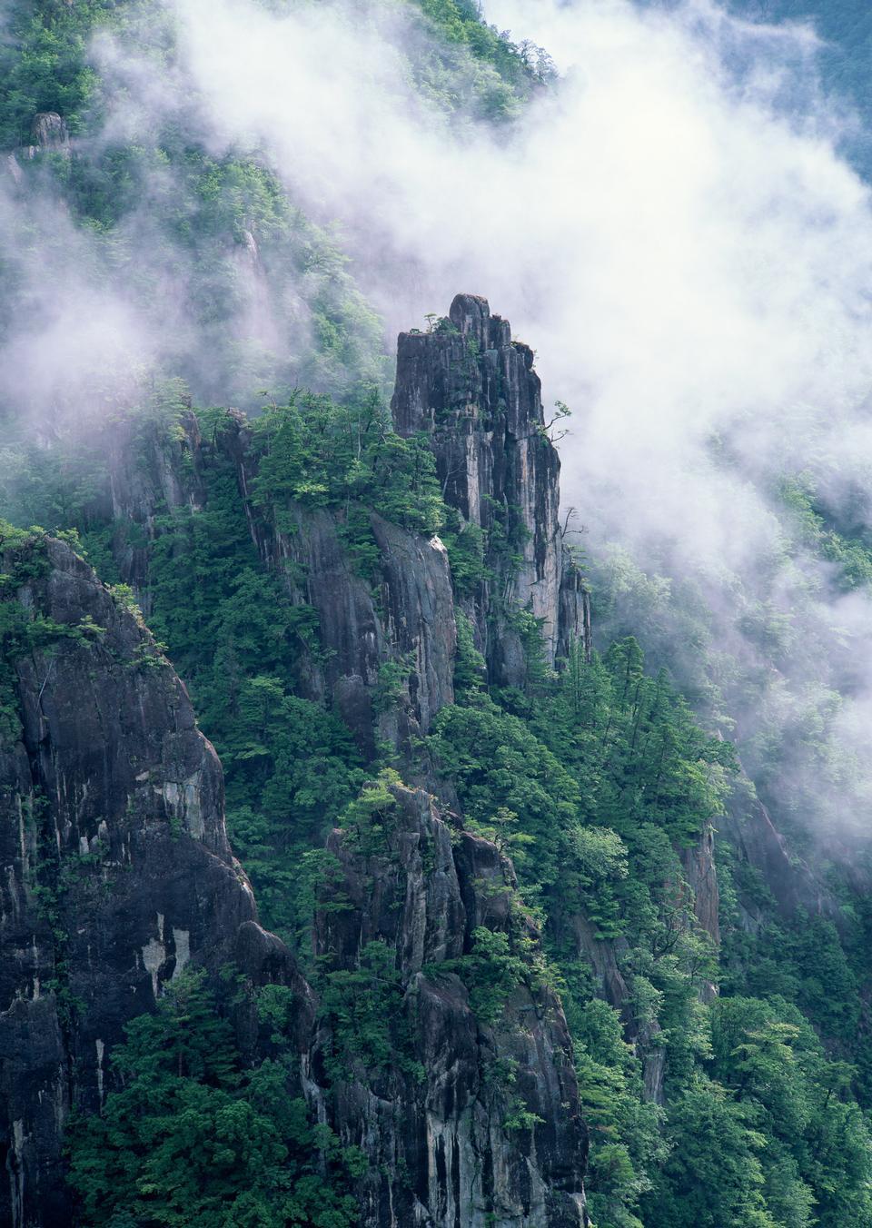 Huangshan peak Yellow sacred mountains in China