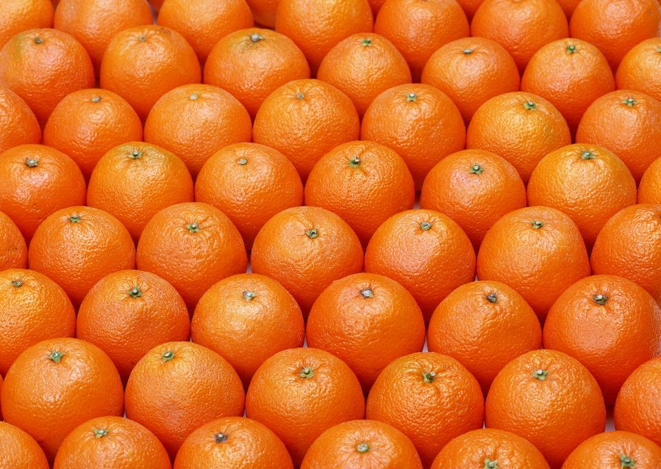 オレンジmandarinesヒープ