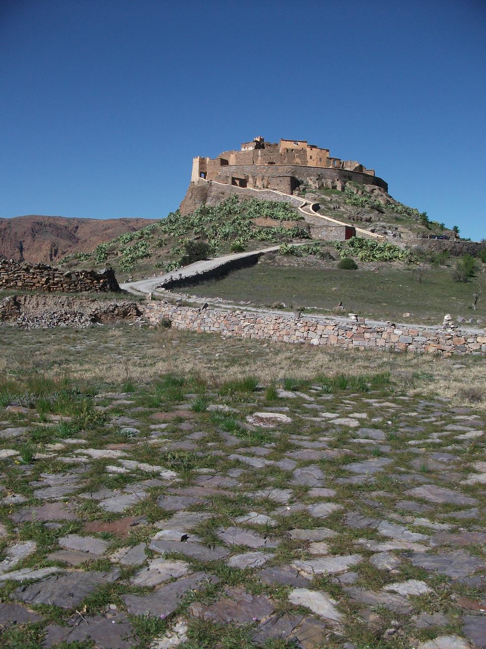 Tizourgane古堡,摩洛哥,非洲
