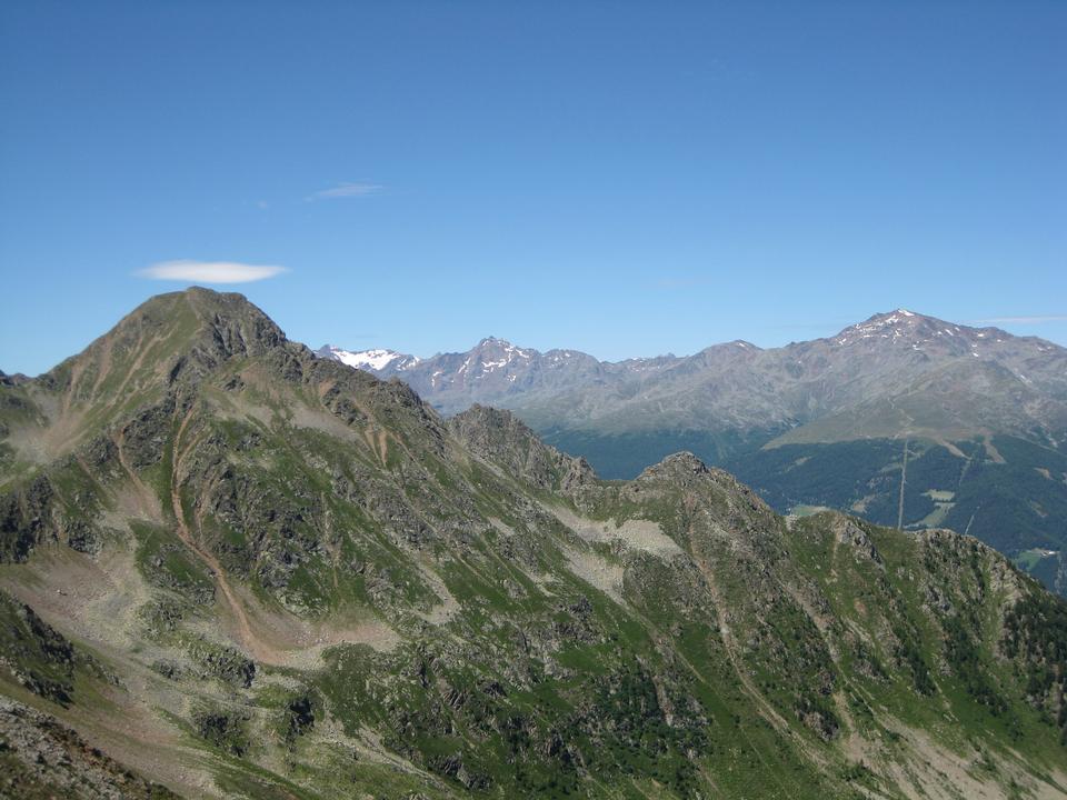 alpine spring landscape