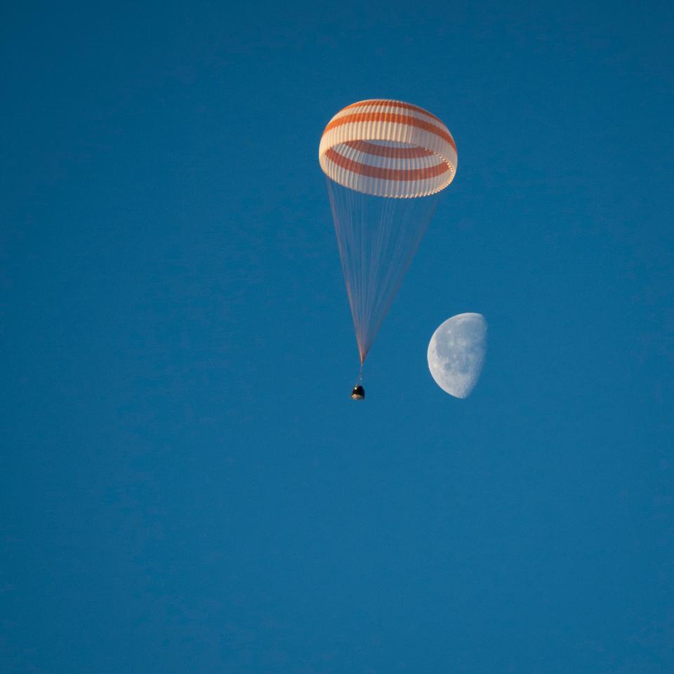 Le vaisseau spatial Soyouz TMA-14M
