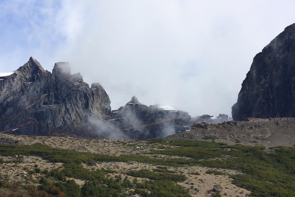Cuernos山,巴塔哥尼亚,智利