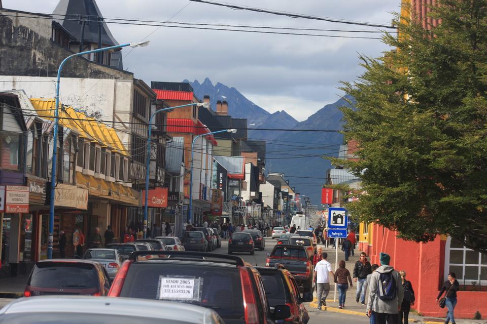 downtown San Martin de los Andes Patagonia, Argentina