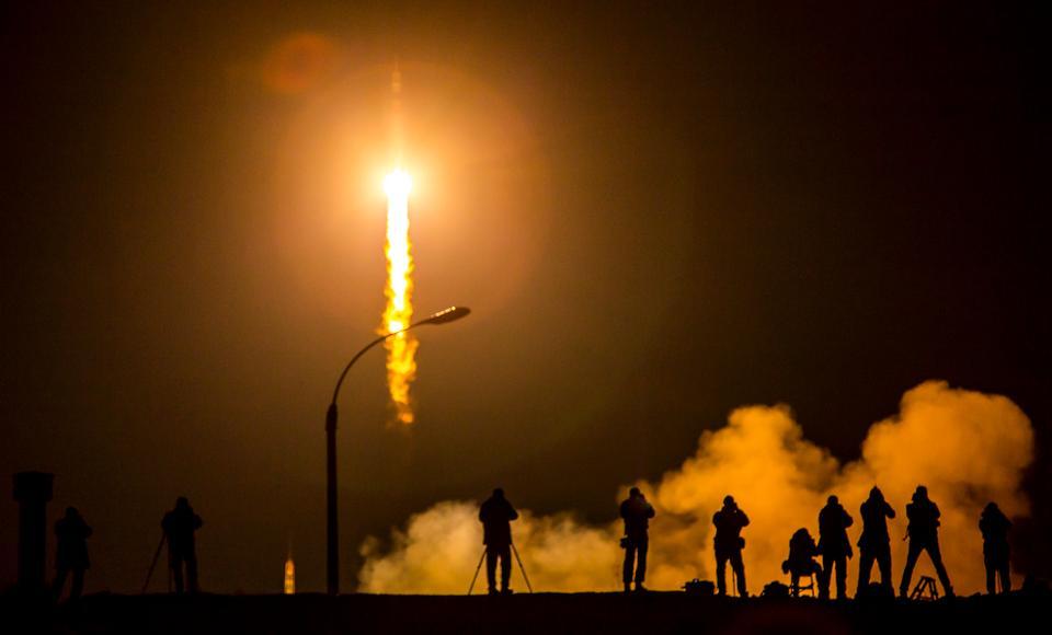 联盟TMA-16M宇宙飞船发射