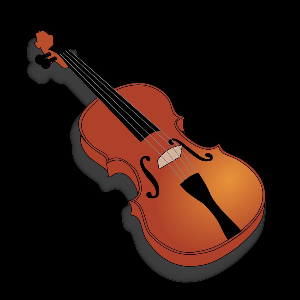Violín Instrumento Musical Clip Art