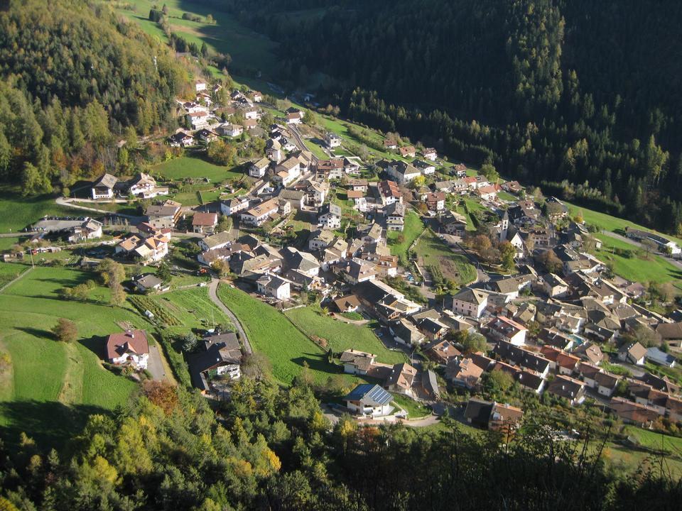 the Village of Selva in Val Gardena,South Tyrol,Italy