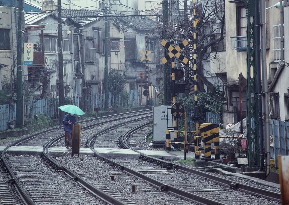 Tramcar railway of Tokyo