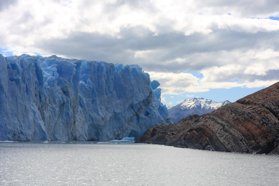 Der Perito Moreno Gletscher ist ein Gletscher im Los Glaciar entfernt