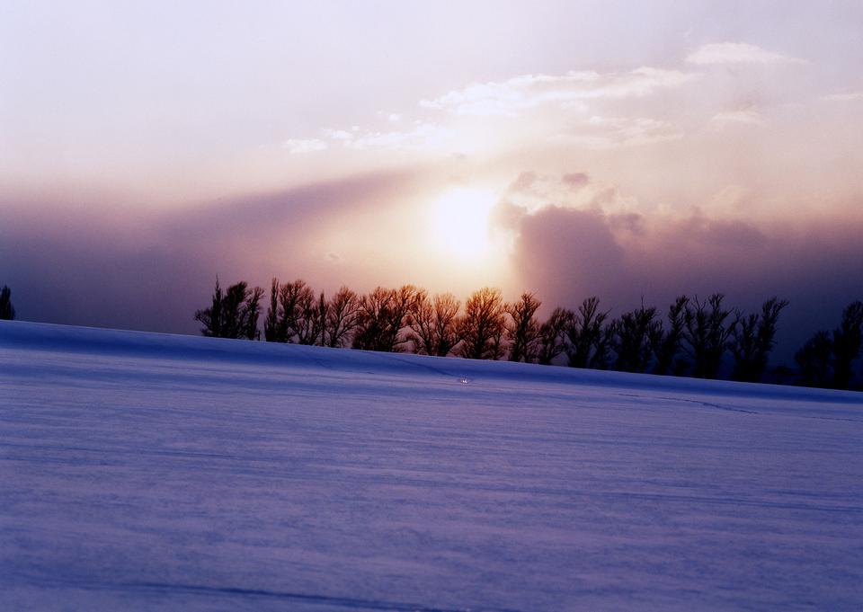 early spring, Hokkaido, Japan
