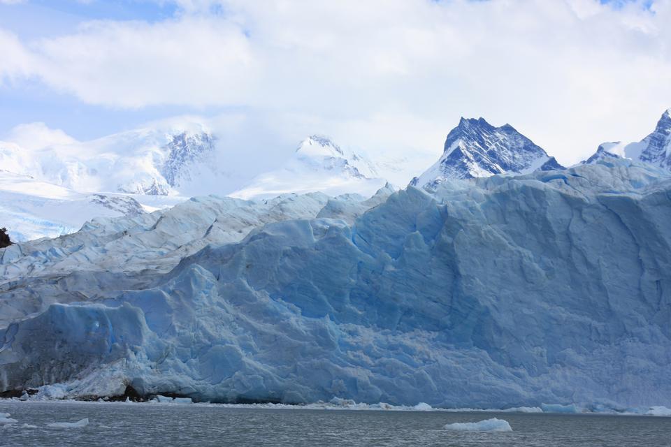 The Perito Moreno Glacier in the Los Glaciares National Park