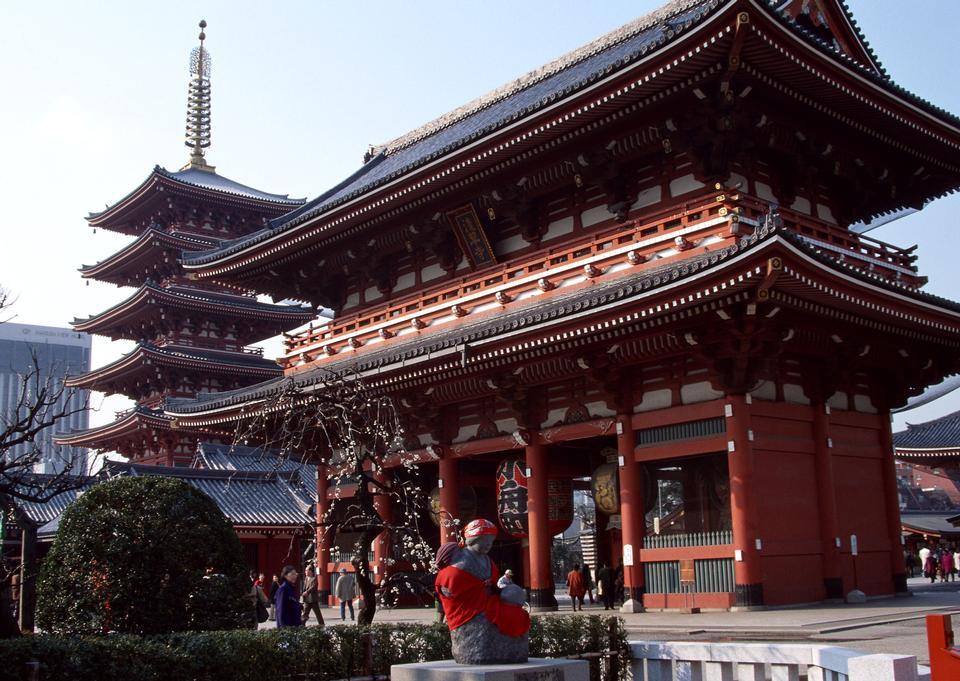 浅草寺在东京