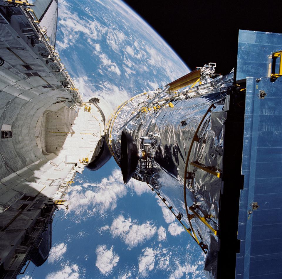 哈勃太空望遠鏡的部署