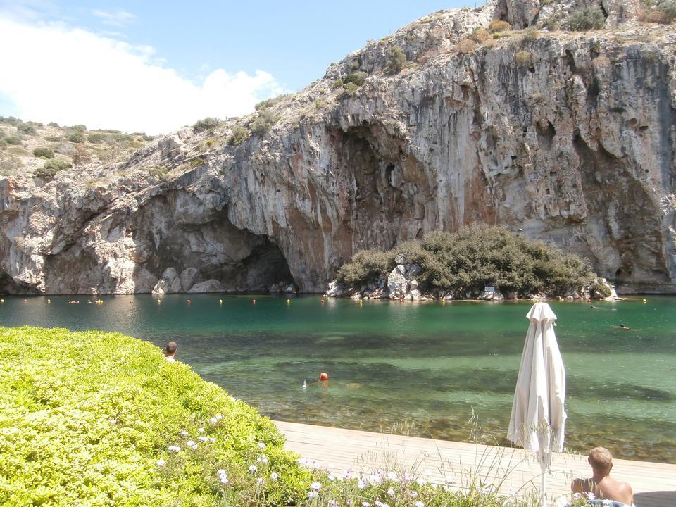 沃里亚戈米尼,热Radonic矿泉水湖雅典,希腊
