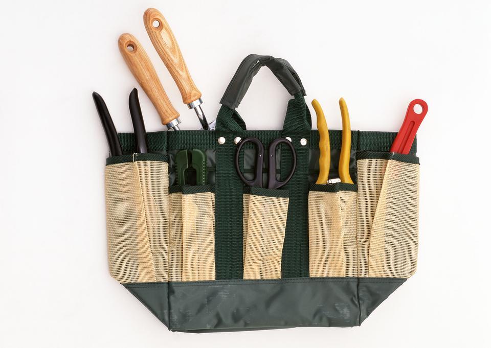 园艺工具的工具包详细信息 - 户外