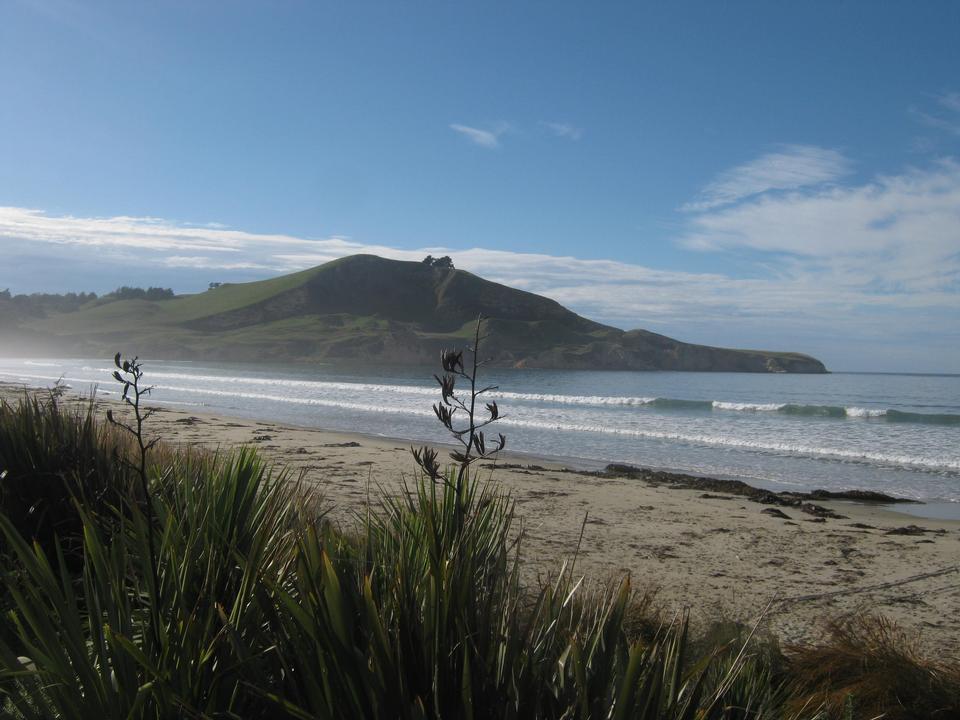 Waikouaiti Beach in East Otago, New Zealand