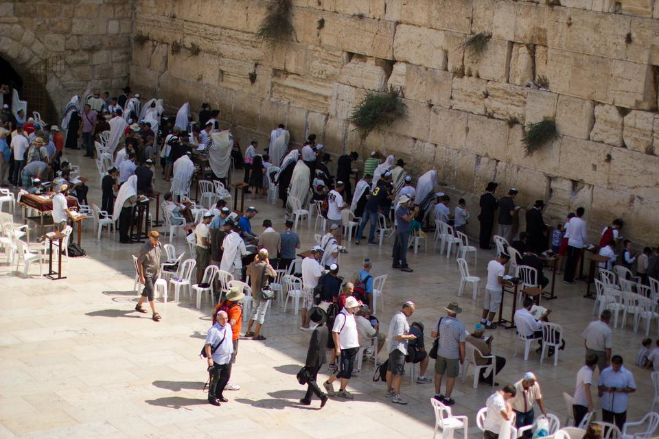 Il Muro del Pianto di Gerusalemme