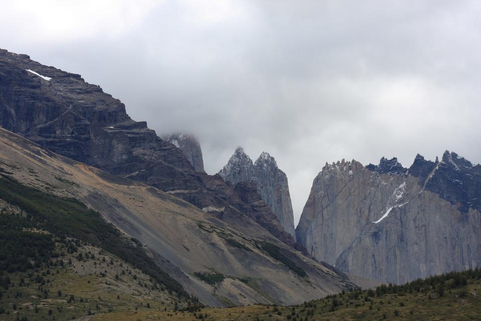The Three Towers at Torres del Paine National Park