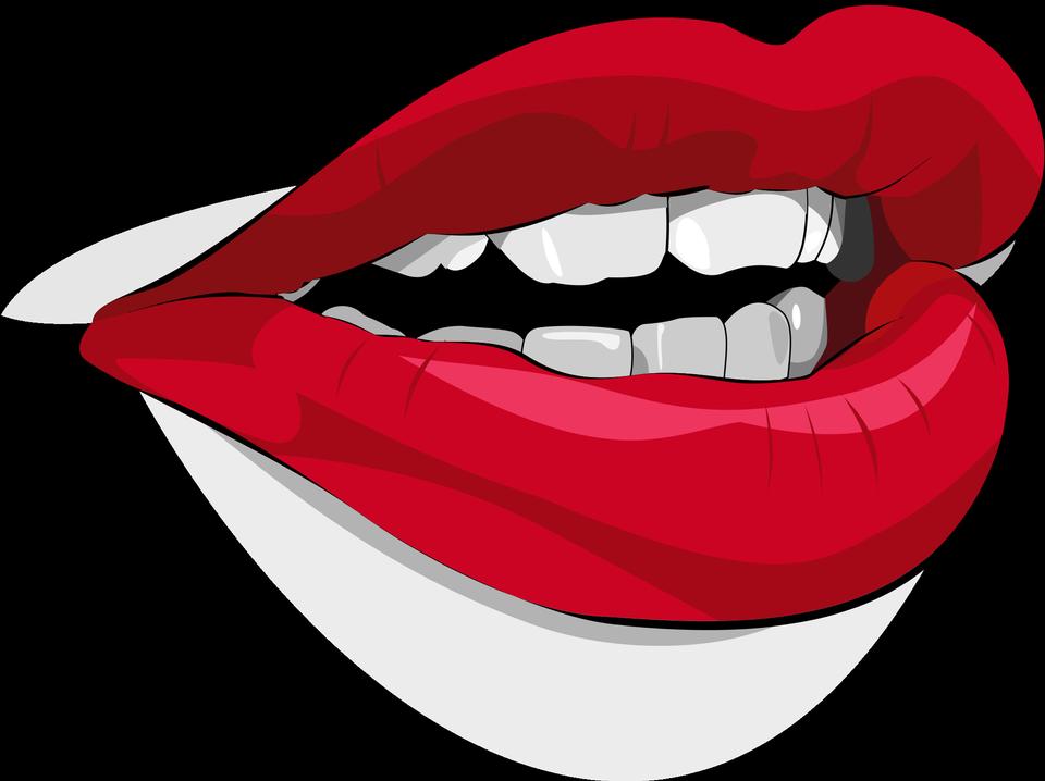 女性的嘴唇