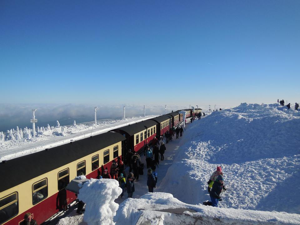 a station on the summit of the Brocken