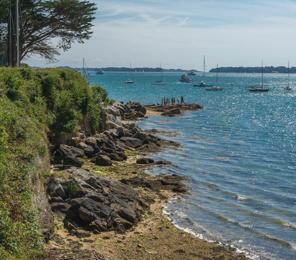 The Gulf of Morbihan in France