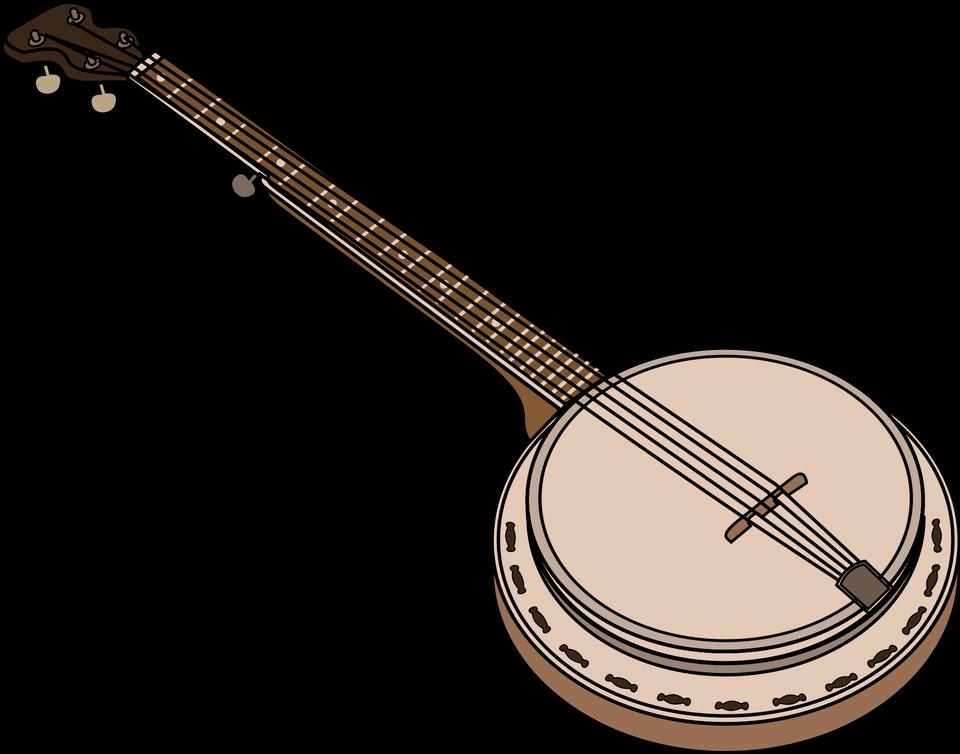 Isolated Banjo