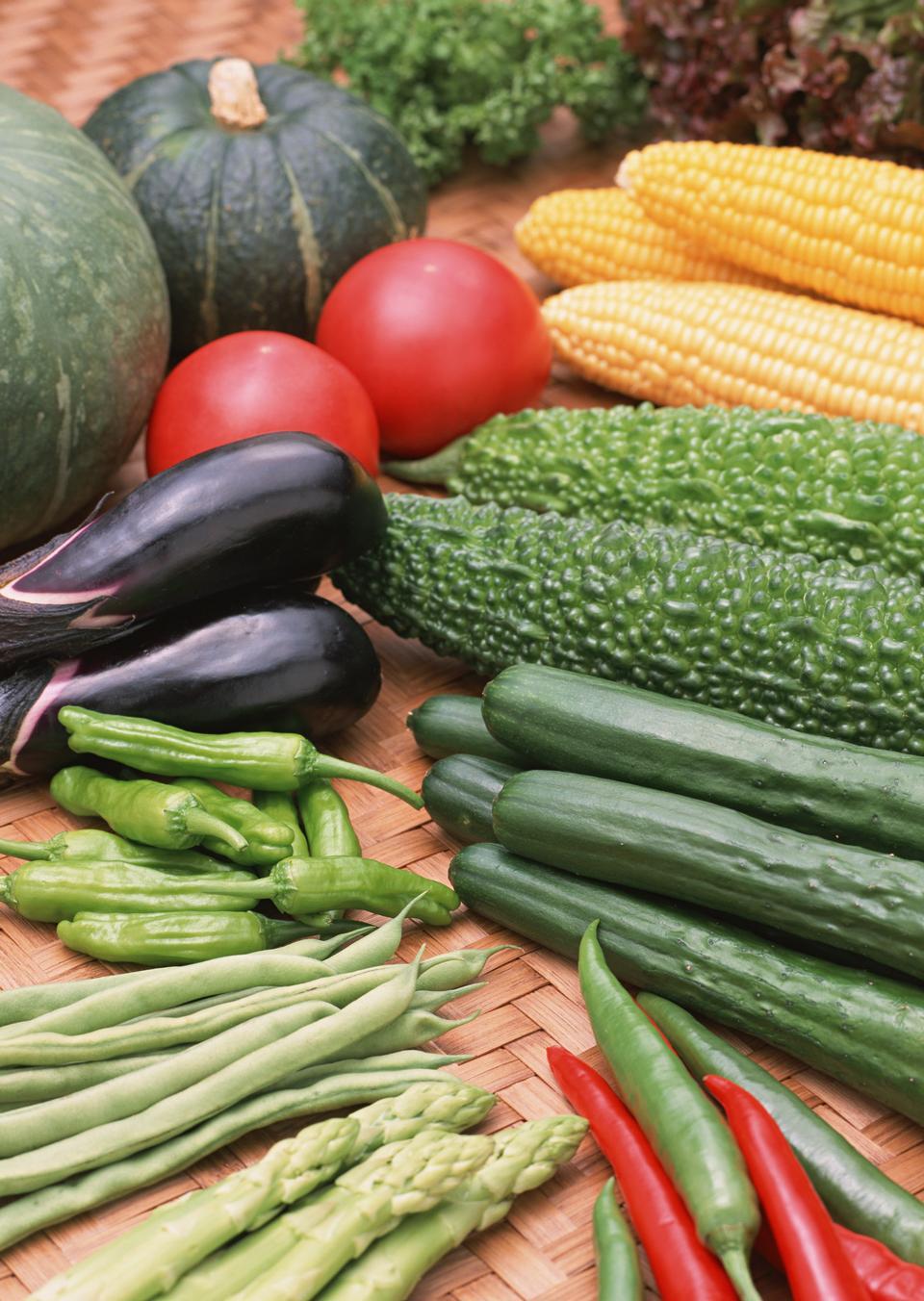 Vegetables All Together