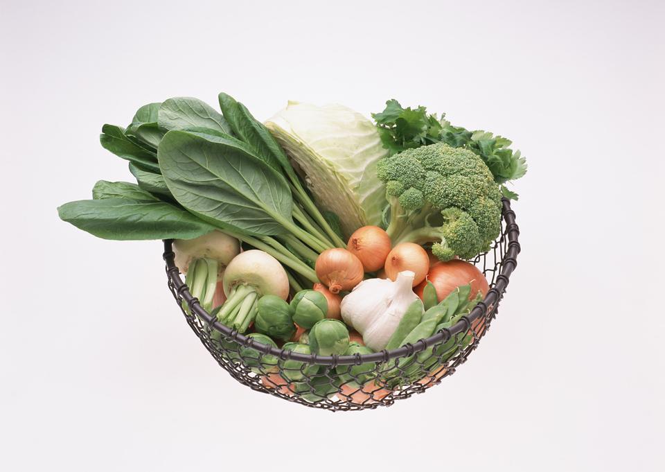 新鮮な野菜のボウル