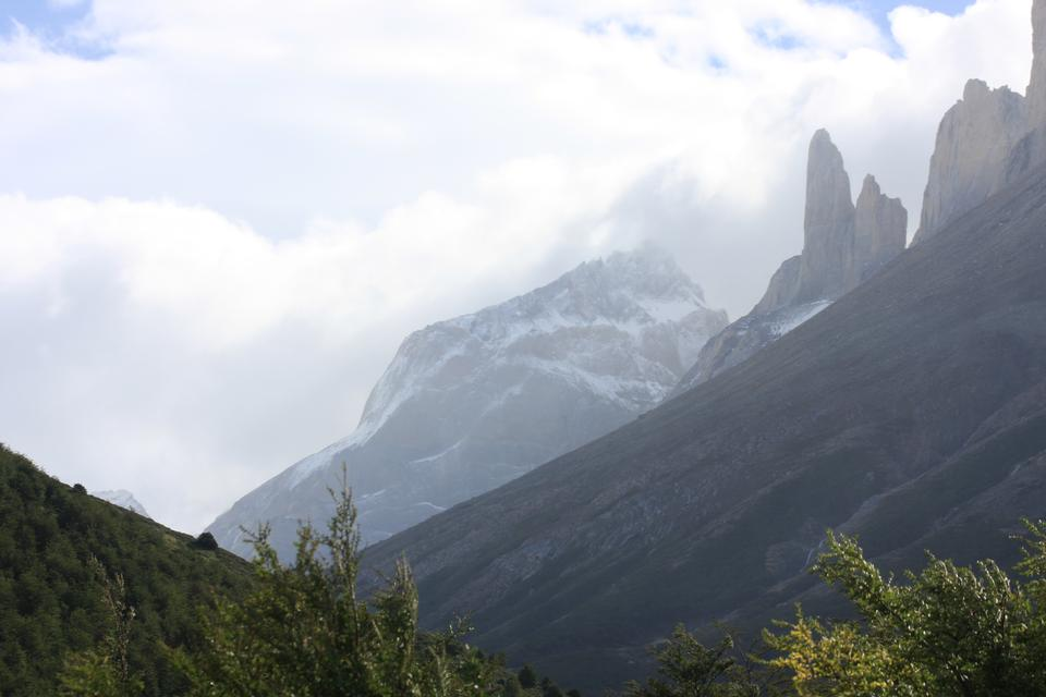 国立公園トーレスデルパイネ、チリ