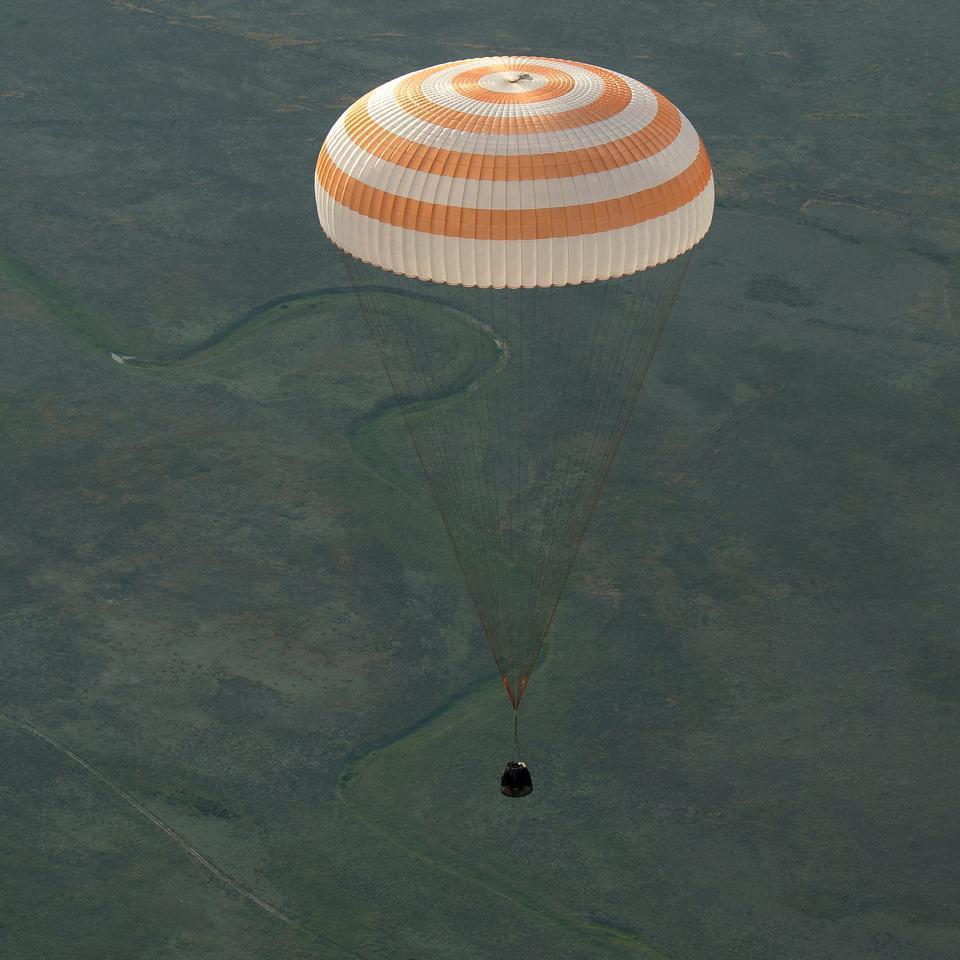 Le vaisseau spatial Soyouz TMA-15M