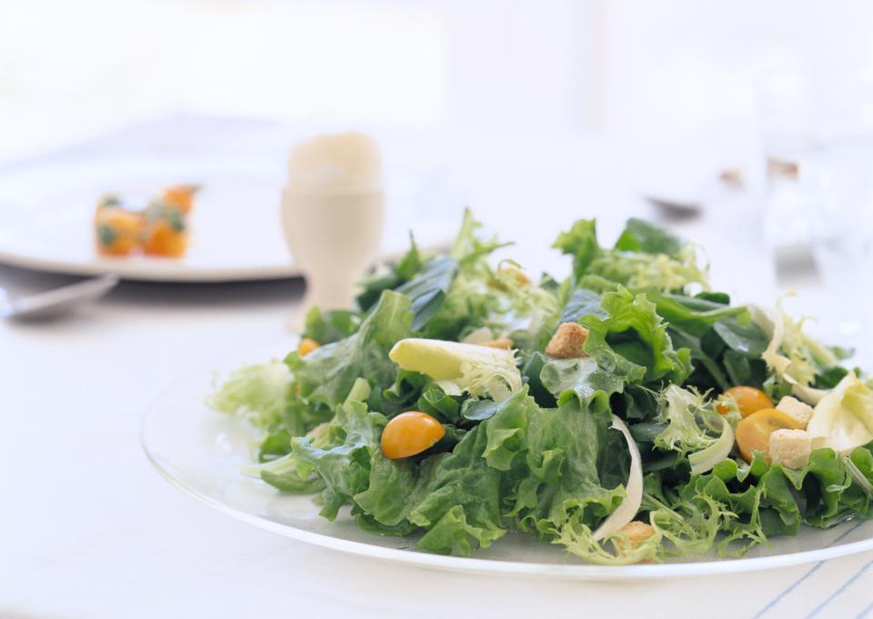 新鮮なグリーンサラダ